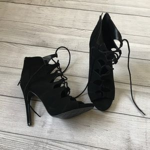 Charlotte Russe Lace Up Heel